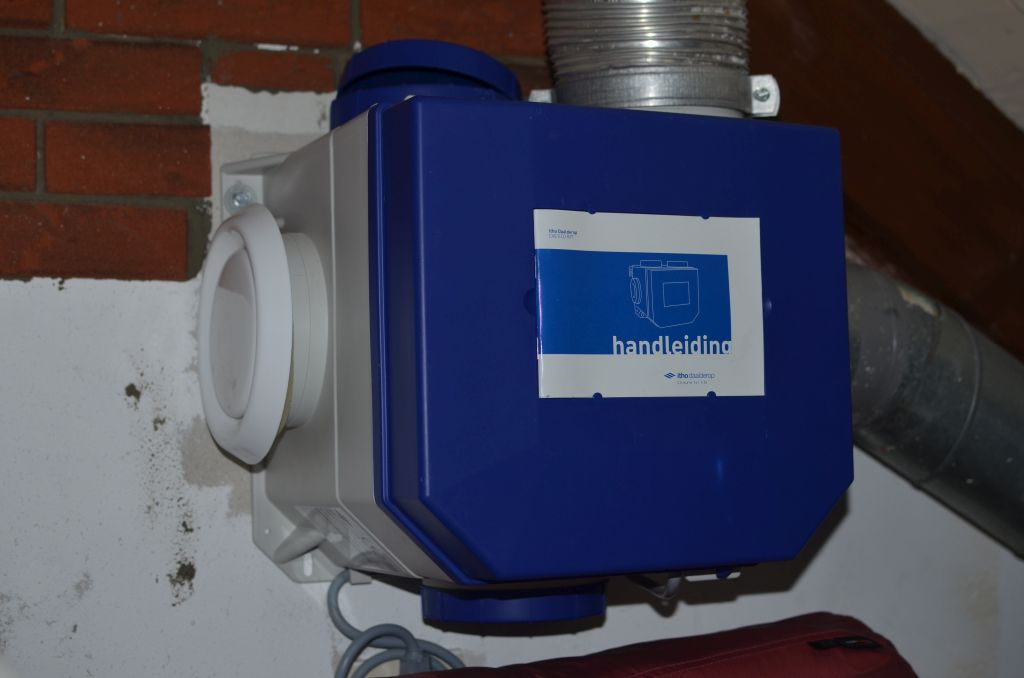itho cve mechanische ventilatie vervangen