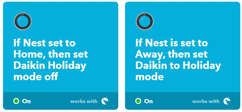 daikin-nest-applets